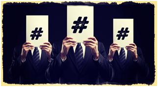 Hashtag mask