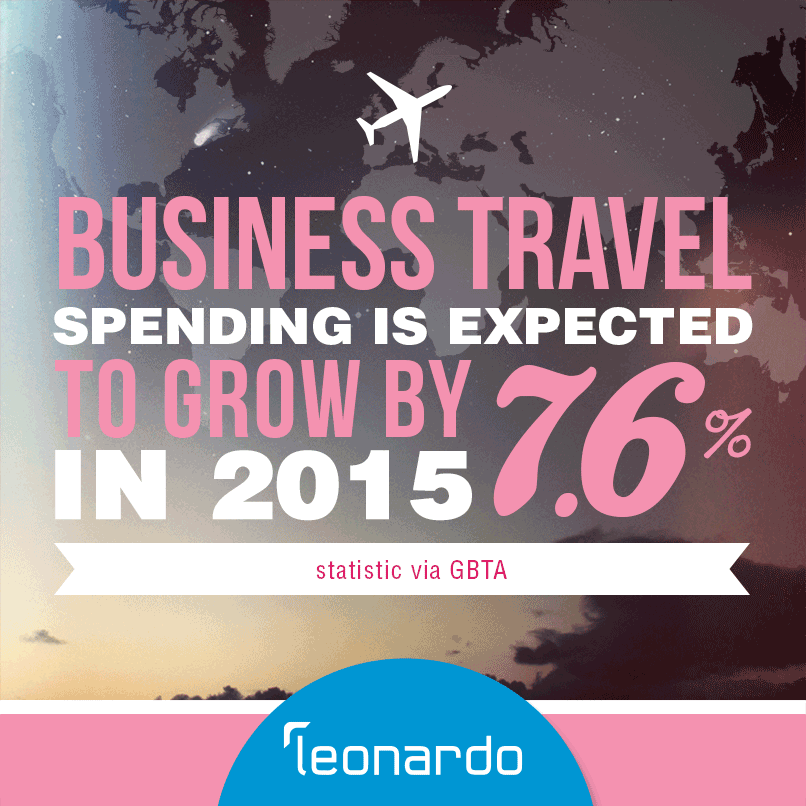 GBTA stat - business travel spending to continue growing in 2015 by 7.6%