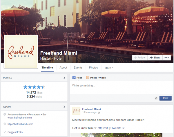 Freehand Miami Facebook