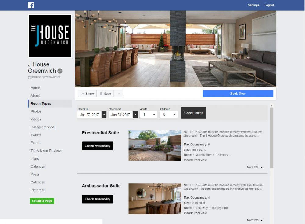 Vizlly Facebook Apps J House