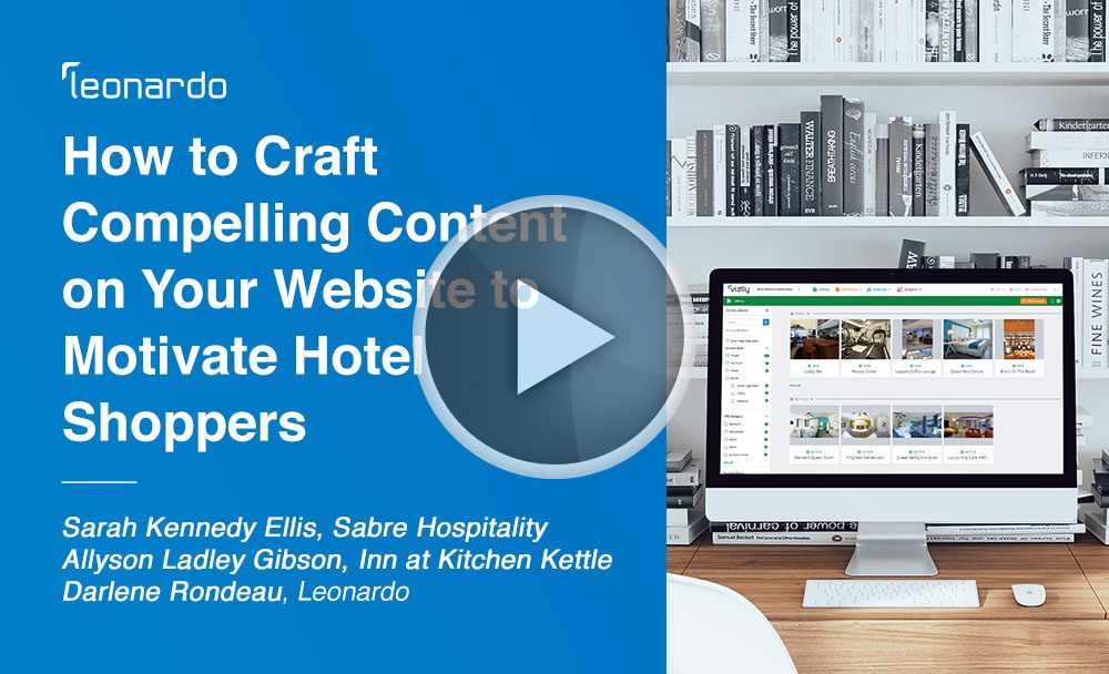 How to craft compelling website content for your hotel