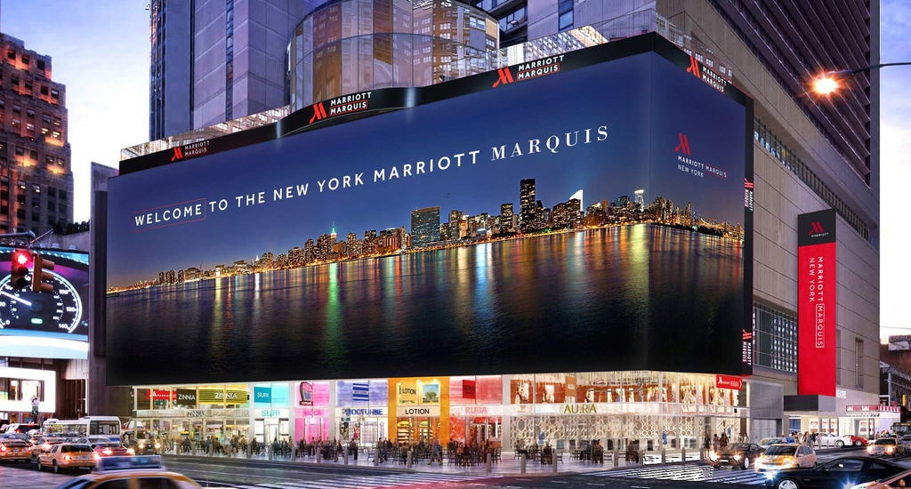 Marriot marquee times square