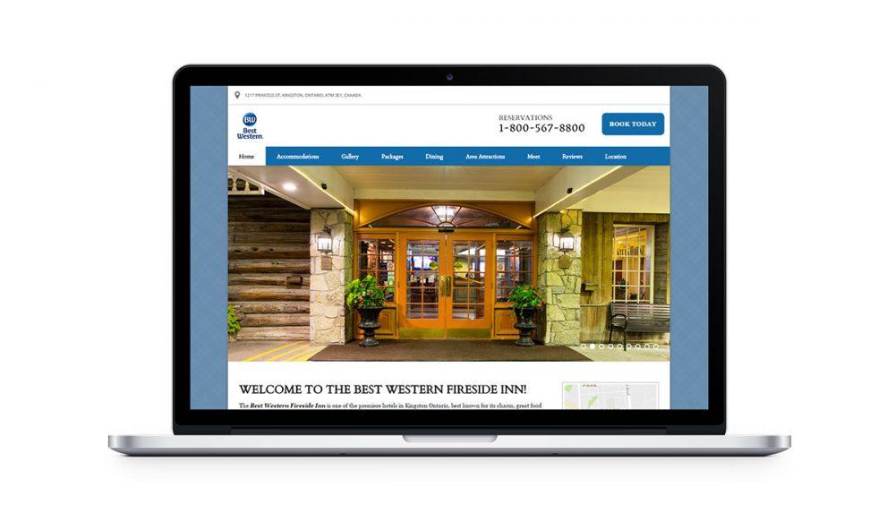 best western vizlly + seo website