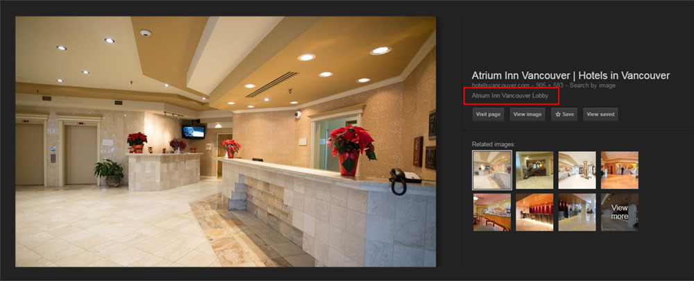 Atrium Inn Vancouver Google Search Results