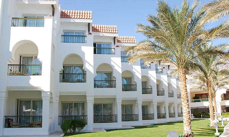 Exterior image of a hotel