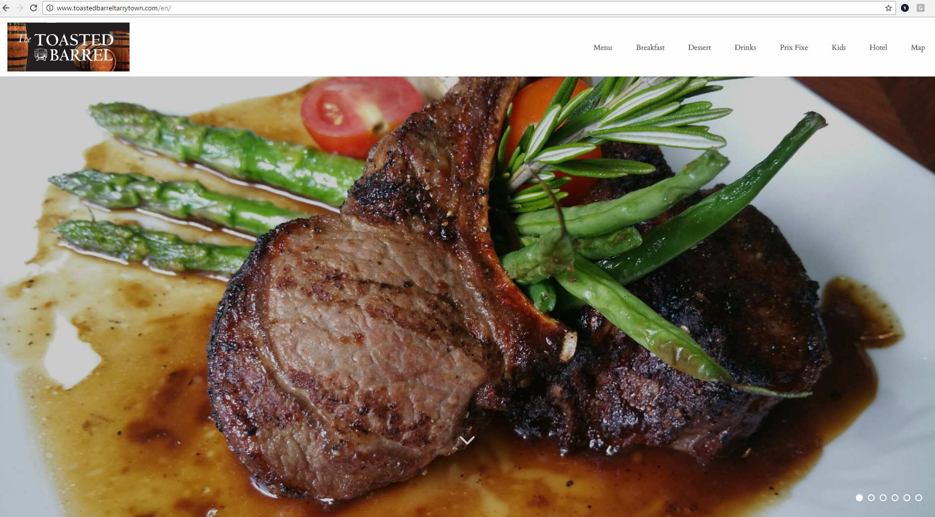 Toasted Barrel, the Sheraton Tarrytown Hotel's Restaurant Homepage