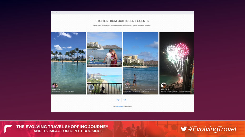 Images Posted to Social Media by Guests