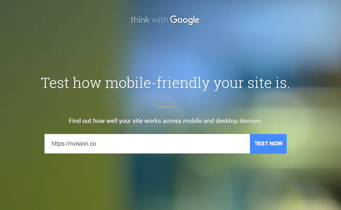 How to test how mobile-friendly your website is