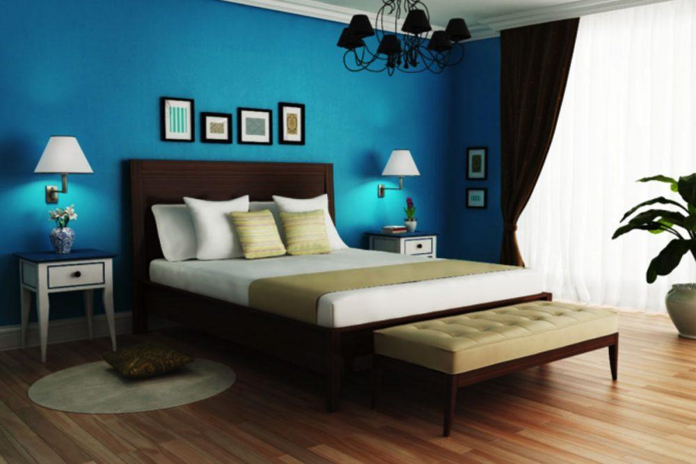 visual content showcasing a hotel guestroom