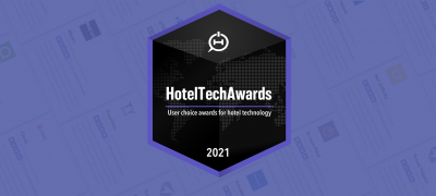 Our technology partner has swept top categories at the 2021HotelTechAwardsfor the second year ina row